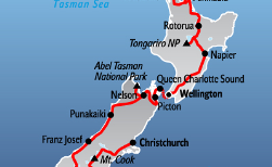 Discover New Zealand, 22 Tage